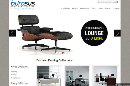 design house and manufacturer of furniture image